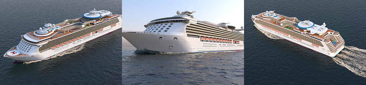 DOSCH 3D: Cruise Ship