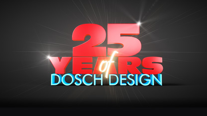 25 years of DOSCH DESIGN – celebrate with us