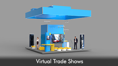 3D for virtual trade shows and events