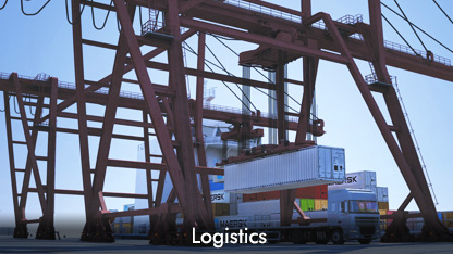 3D for Logistics, Transport & Warehousing