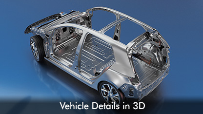 Vehicle details in 3D