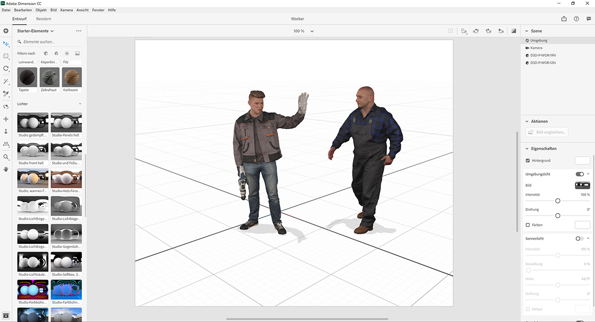 Free 3d Models For Adobe Dimension