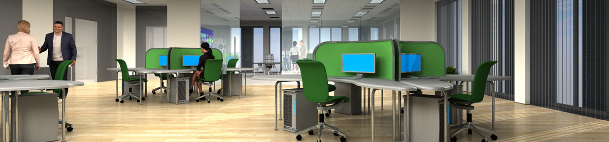 DOSCH 3D 3D-Scenes - Office 02 - Plus