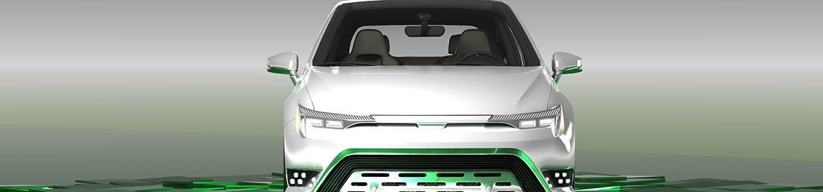 DOSCH DESIGN - DOSCH 3D: Car Details - Compact Electric Car
