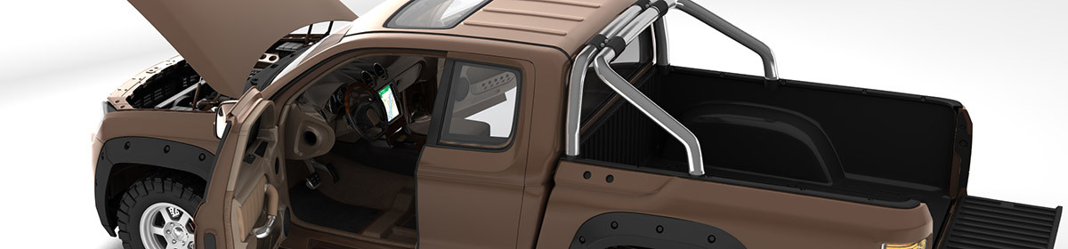 DOSCH 3D Car Details - Pick-up