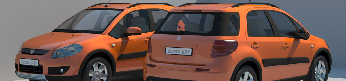 DOSCH 3D Cars 2008 for Maxwell Render