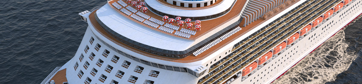 DOSCH 3D Cruise Ship