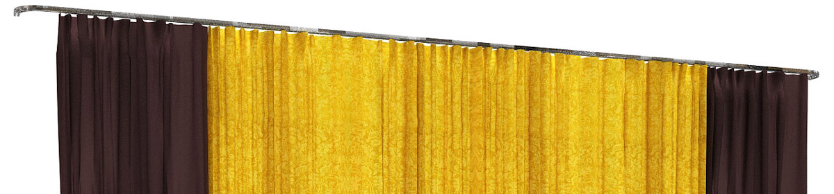 DOSCH 3D Curtains & Drapes