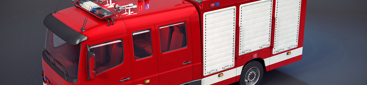 DOSCH 3D Fire Trucks