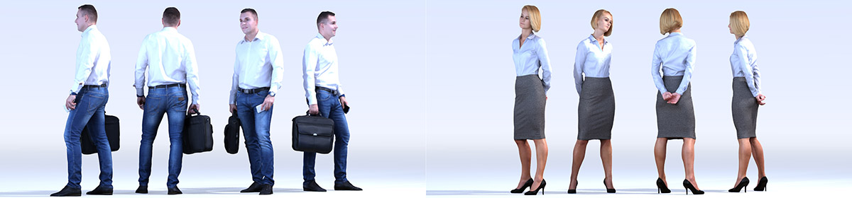 DOSCH 3D People - Business Vol. 1