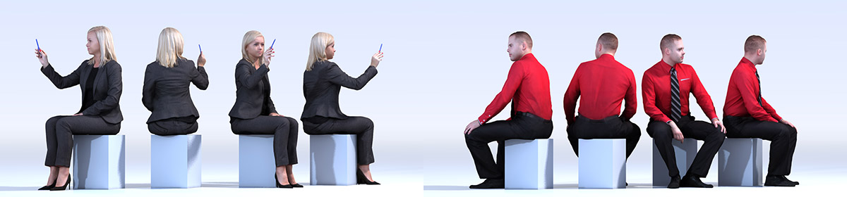 DOSCH 3D People - Business Vol. 2