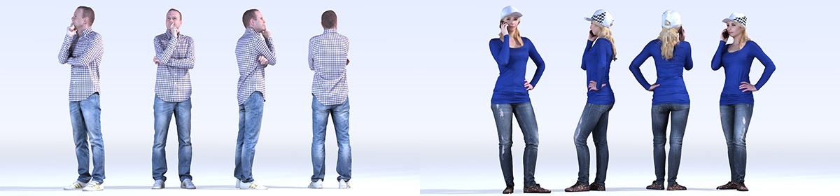 DOSCH 3D People - Casual Vol. 1