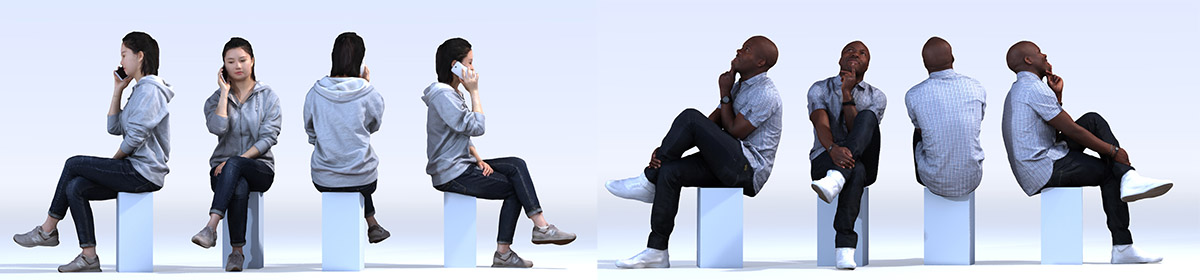 DOSCH 3D People - Casual Vol. 3