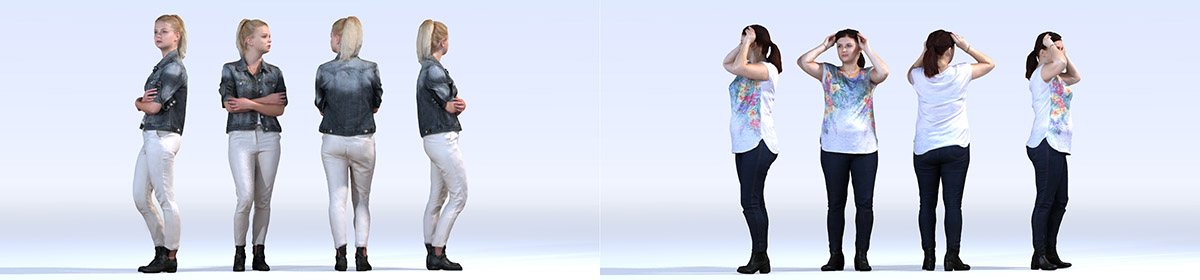 DOSCH 3D People - Casual Vol. 4