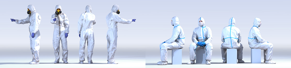 DOSCH 3D People - Clean Room Vol. 2