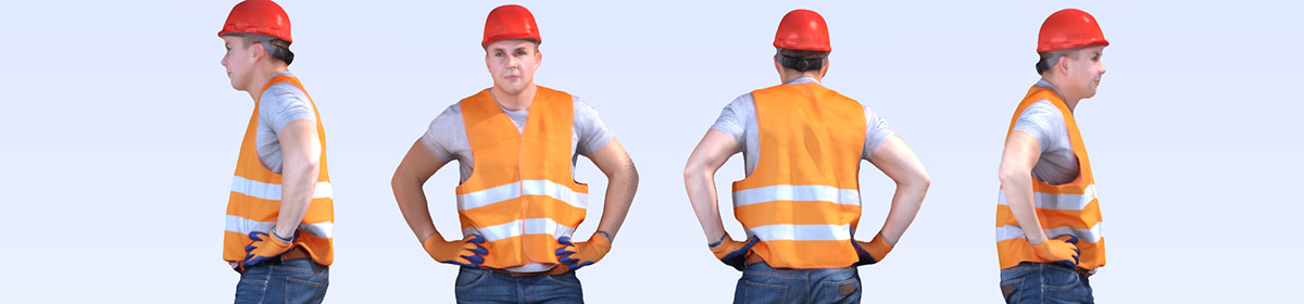 DOSCH 3D People - Construction Worker Vol. 1