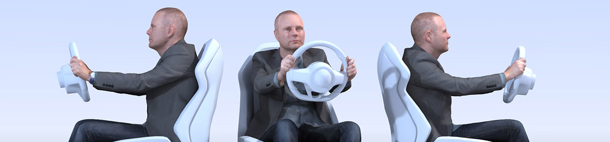 DOSCH 3D People - Driver Vol. 1