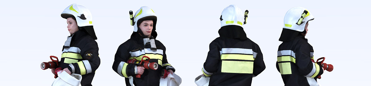DOSCH 3D People - Firefighters Vol. 1