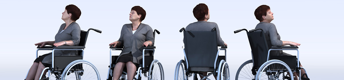 DOSCH 3D People - Handicapped Seniors Vol. 1