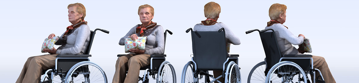 DOSCH 3D People - Handicapped Seniors Vol. 2