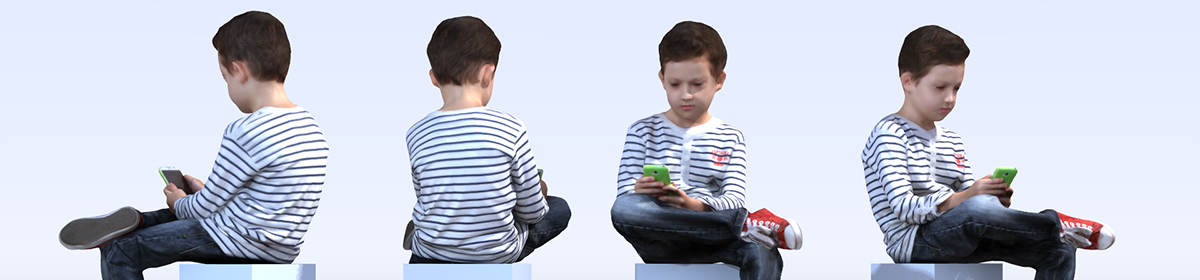 DOSCH 3D: People - Kids Vol. 1