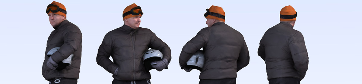 DOSCH 3D People - Winter Sports Vol. 1