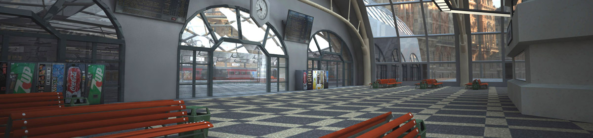 DOSCH 3D Train Station