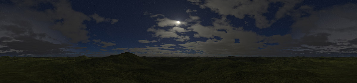 DOSCH HDRI Night Skies