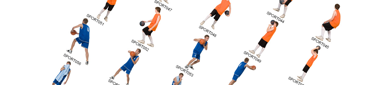 DOSCH 2D Viz-Images People - Sports