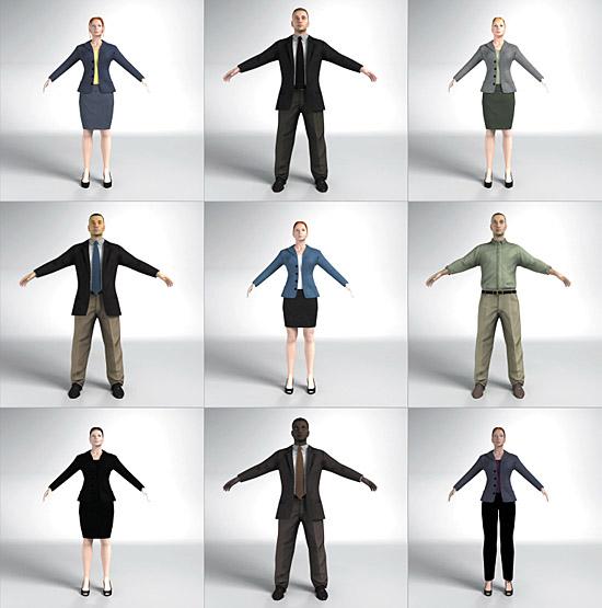 Dosch Design Dosch 3d 3d People T Pose