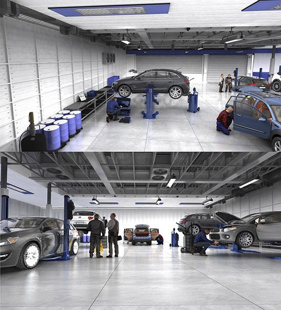 DOSCH DESIGN - DOSCH 3D: 3D-Scenes - Car Service 01 - Plus