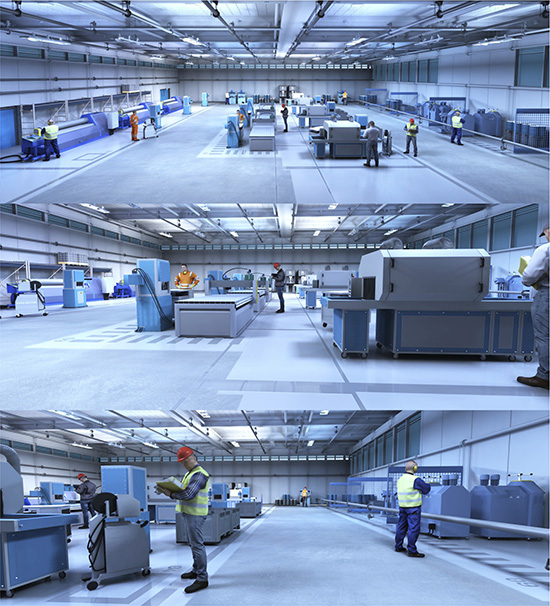 DOSCH DESIGN - DOSCH 3D: 3D-Scenes - Factory 02 - Plus