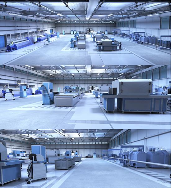 DOSCH DESIGN - DOSCH 3D: 3D-Scenes - Factory 02