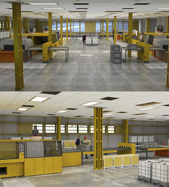 DOSCH DESIGN - DOSCH 3D: 3D-Scenes - Factory 04 - Plus