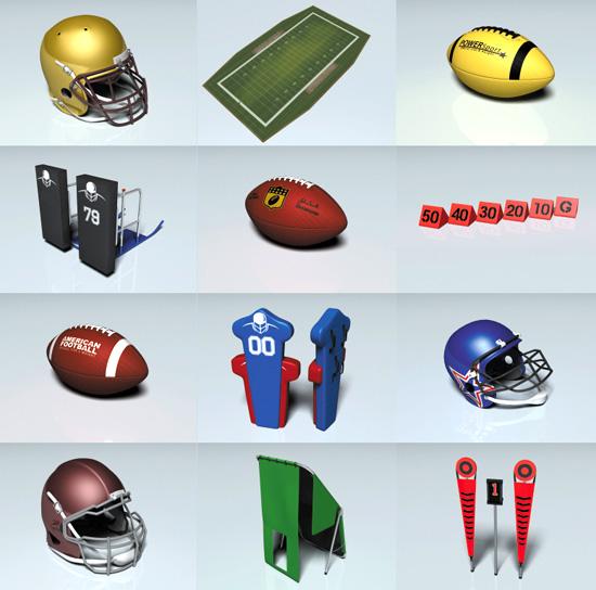 DOSCH DESIGN - DOSCH 3D: American Football