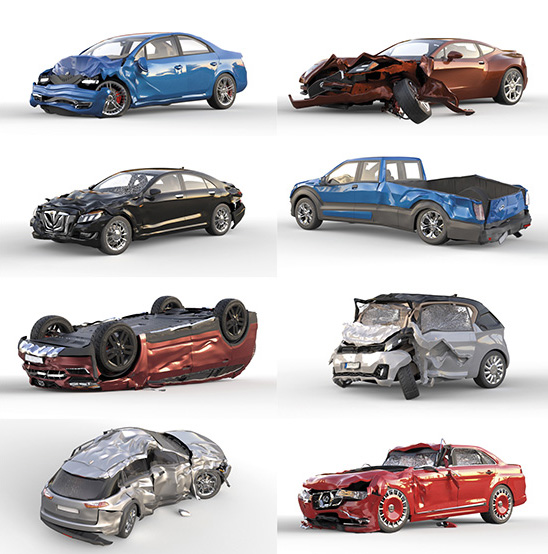 DOSCH DESIGN - DOSCH 3D: Accident Cars