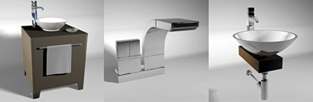 داچ دیزاین دستشویی