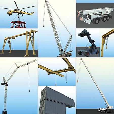 DOSCH DESIGN - DOSCH 3D: Cranes