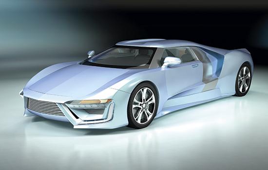 Dosch Design Dosch 3d Car Details Futuristic