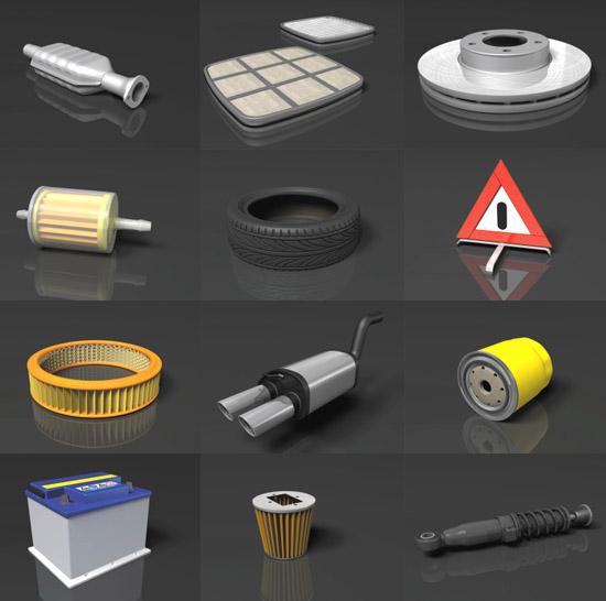 DOSCH DESIGN - DOSCH 3D: Car Parts