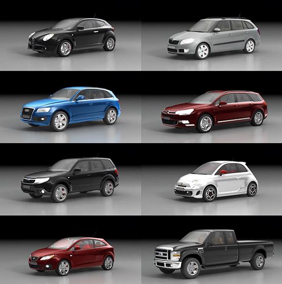 Dosch 3d Cars 2009 V1 1
