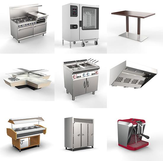 Dosch Design Dosch 3d Commercial Kitchen