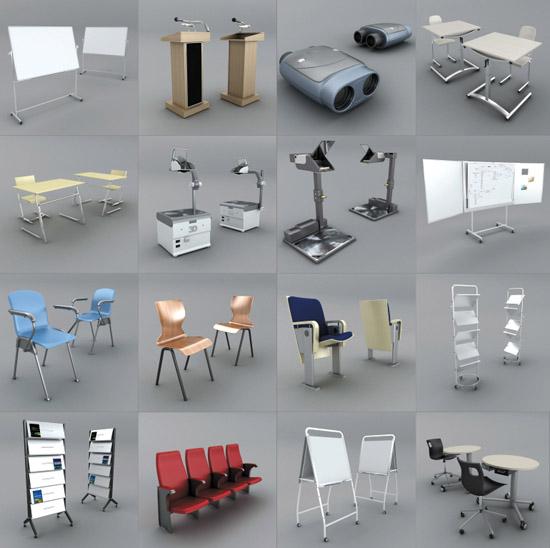 dosch design dosch 3d convention equipment. Black Bedroom Furniture Sets. Home Design Ideas