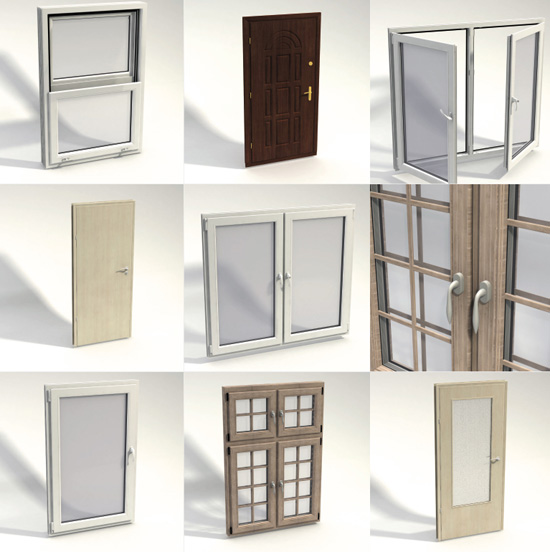 Dosch Design Dosch 3d Doors Amp Windows Details