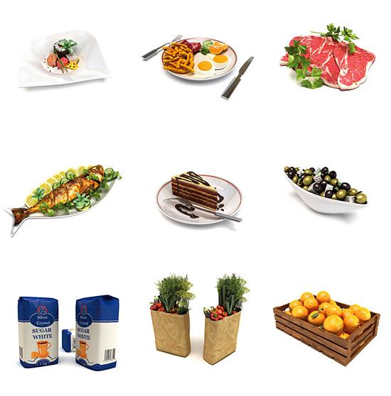 DOSCH DESIGN - DOSCH 3D: Food