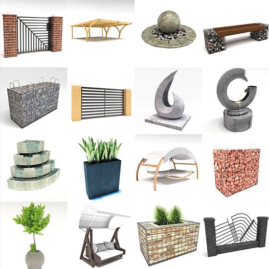 DOSCH DESIGN DOSCH 3D Garden Decoration
