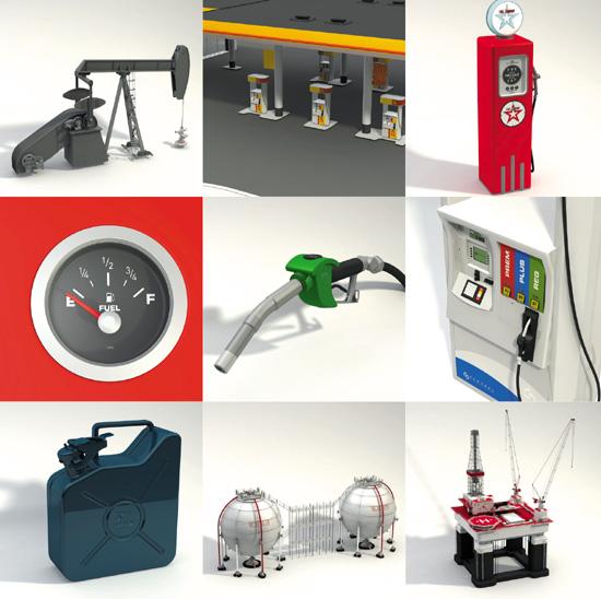 DOSCH DESIGN - DOSCH 3D: Gas & Oil