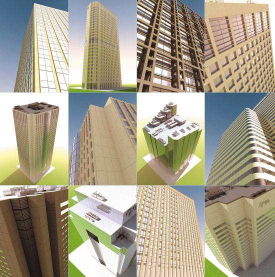 DOSCH DESIGN - DOSCH 3D: High-Rise Buildings