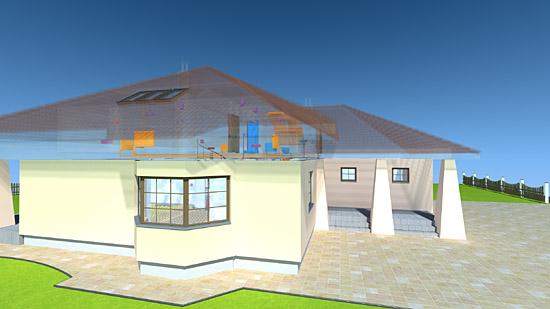 Vrml house model