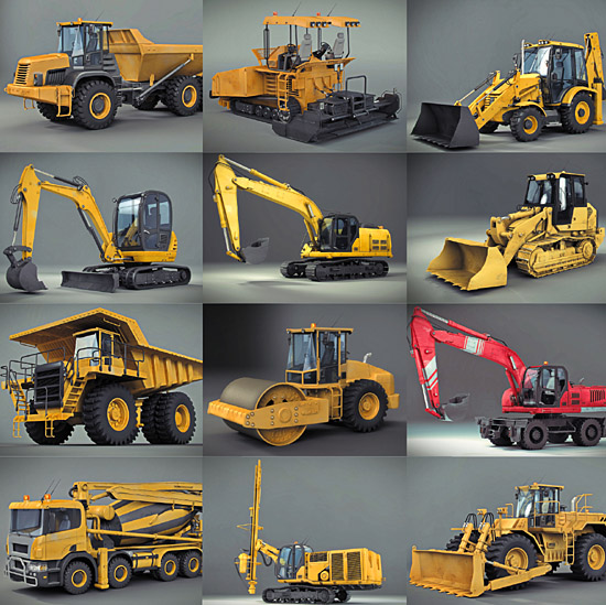 DOSCH DESIGN - DOSCH 3D: Heavy Machines